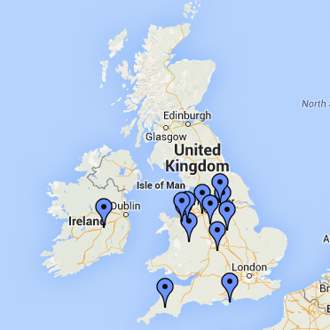 Groups-map-uk