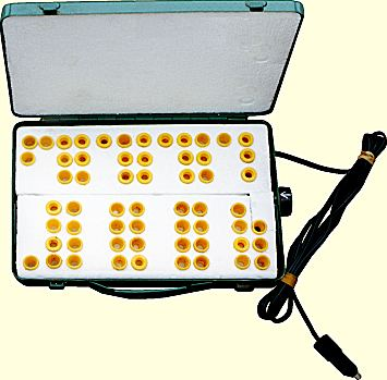 Themostatically controlled cell transporter box, Photo... Albert Knight